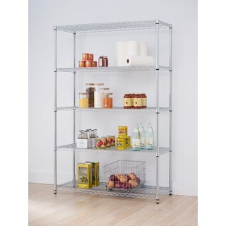 Trinity EcoStorage Steel 5-tier Shelving Rack