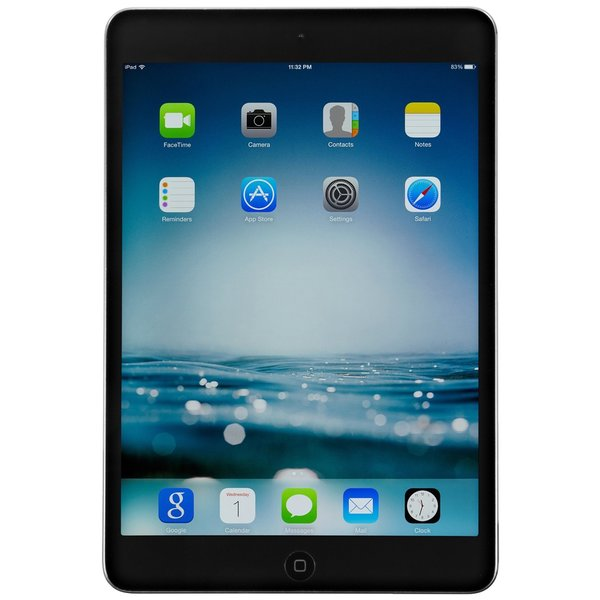 Apple iPad Mini 2 ME277LL/A 8-inch Retina Display, 1.30GHz Dual-core Processor, 32GB, iOS 7, Space Grey