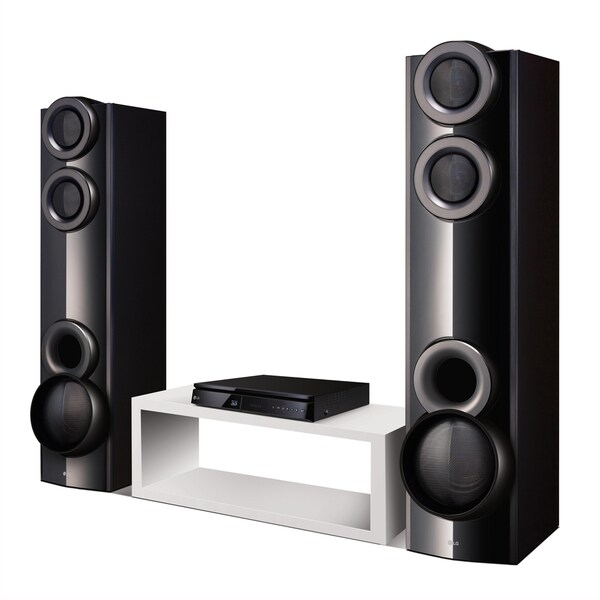 LG LHB675 3D 4.2ch 1000w Bluetooth Built-in WiFi Smart Black Home Theater System