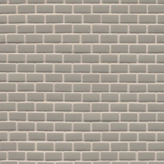 Bedrosians Brown/Grey Glass Staggered Joint Matte Slate Tiles (Pack of 11 Sheets)