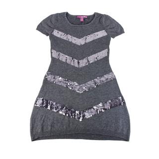 Epic Threads Girl's Grey Above-knee Dress