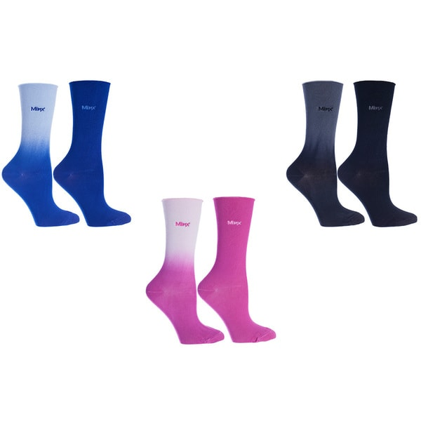 MinxNY Roll Tops Socks (Pack of 6)