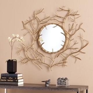 Upton Home Round Branch Mirror