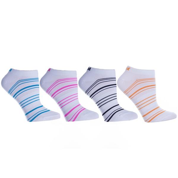 MINXNY Micro Denier Anklet Socks (4 Pairs)