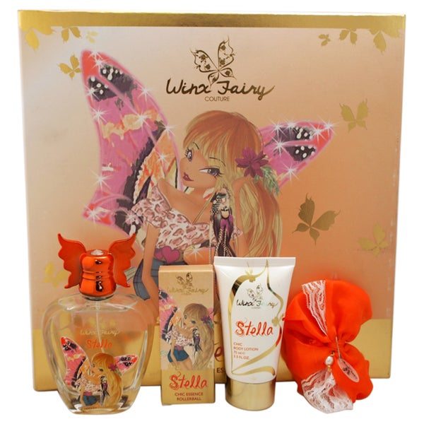 Winx Fairy Couture Stella Chic Essence 4-piece Gift Set