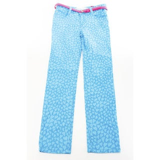Epic Threads Girl's Blue Cotton, Synthetic Fiber Slim Fit Jeans