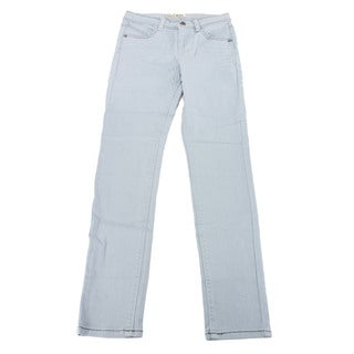 Imperial Star Girl's Blue Cotton Slim Fit Jeans