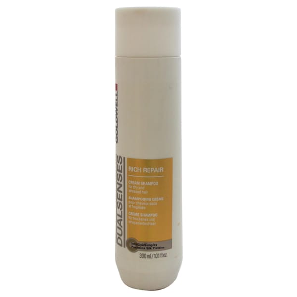 Goldwell Dualsenses Rich Repair Cream 10.1-ounce Shampoo