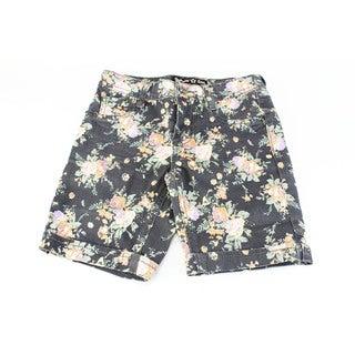 SGI Fashion Girl's Imperial Star Black Cotton Size 10 Shorts