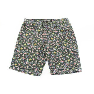Imperial Star Girl's Black Cotton Shorts (Size 12 US)
