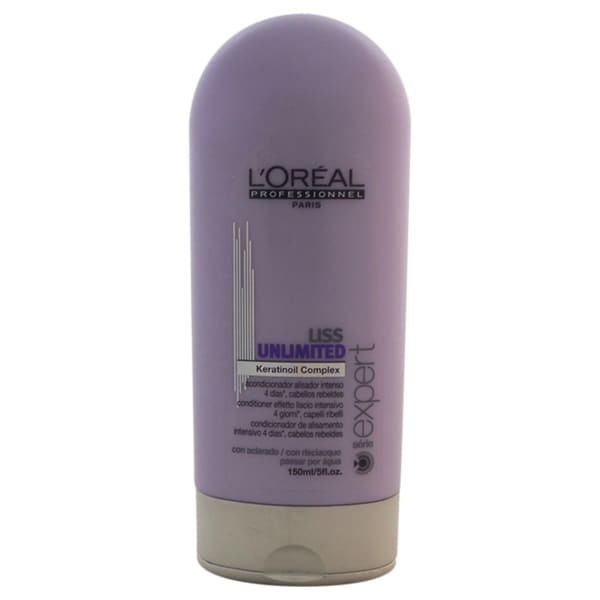 L'Oreal Professional Serie Expert Liss Unlimited Keratinoil Complex 5-ounce Conditioner
