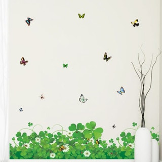 Field of Butterflies Wall Decal