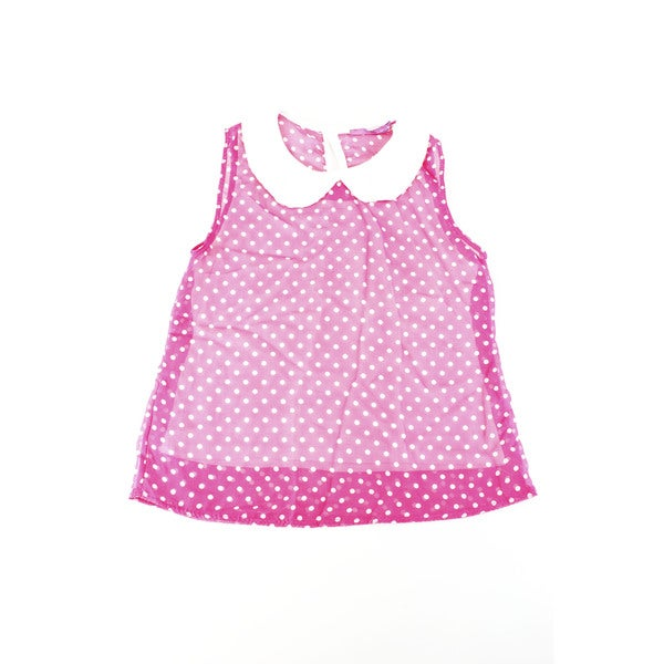 Aqua Girl's Pink Top (Size 6 US)