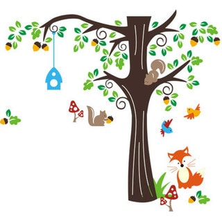 'Tree of Friends' Wall Decal