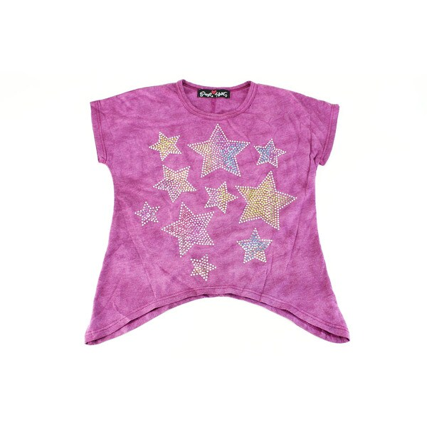 Paper Hart Girls' Purple Size 4 Top