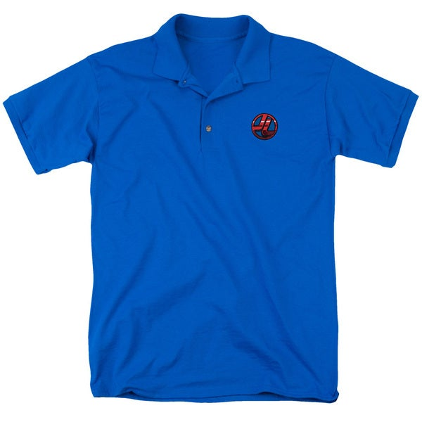 JLA/Embroidered Jl Mens Regular Fit Polo in Royal