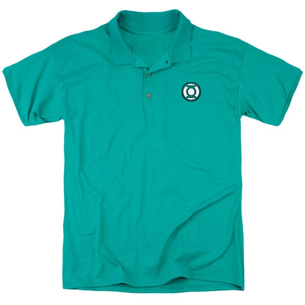 JLA/Embroidered Lantern Mens Regular Fit Polo in Kelly Green