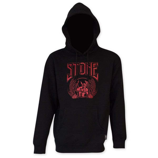 Stone Brewing Co. Men's Black Crusher Hoodie