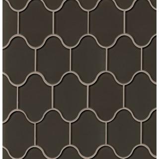 Bedrosians Mallorca Collection Palma Glass Mosaic Cliff Tile (11 sheets per box)