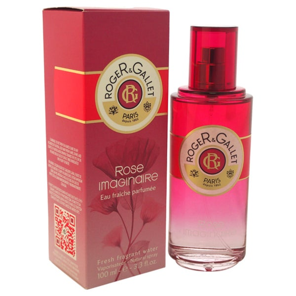 Roger & Gallet Rose Imaginaire Women's 3.3-ounce Fresh Fragrant Water Spray