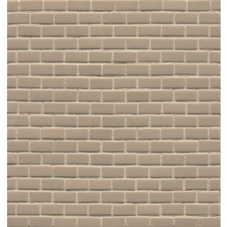 Flax Glass Staggered Joint Mattete Tile (Pack of 11 Sheets)