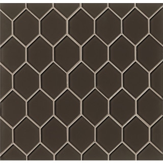 Bedrosians Mallorca Arta Multicolor Glass Mosaic Cliff Tiles (Pack of 11 Sheets)