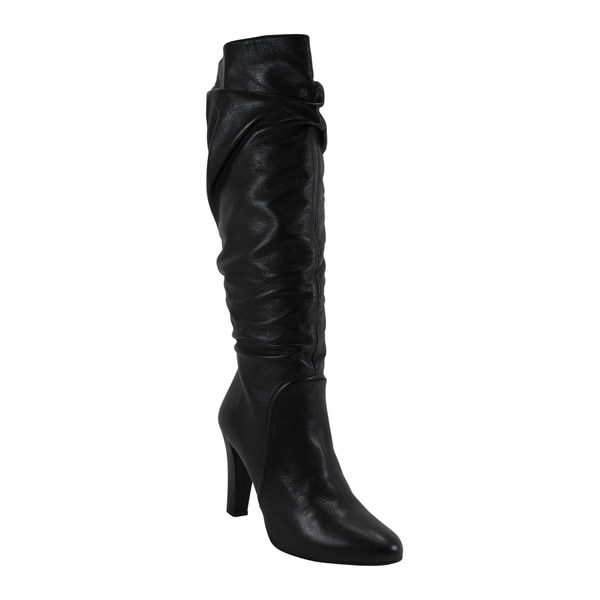 Persona Women's Black Size 40 Knee-high Boots
