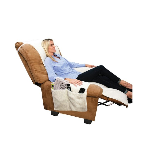 Sobakawa Snuggle Up Poly Fleece Comfort Chair Seat Cover