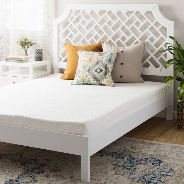 Double-layered Memory Foam 7-inch California King-size Mattress