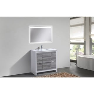 KubeBath Dolce 36-inch Single Sink Bathroom Vanity