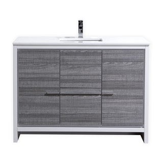 KubeBath Dolce 48-inch Single Sink Bathroom Vanity