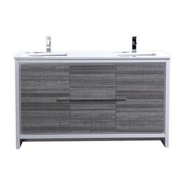 Kubebath Dolce 59 Inch Double Sink Bathroom Vanity 18865688 Shopping Great