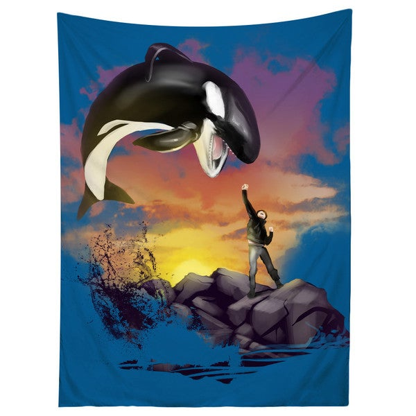 Sharp Shirter Willy The Killer/ Killer Whale Tapestry