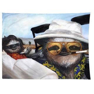 Sharp Shirter Sloth Vegas/ Fear and Loathing/ Tapestry