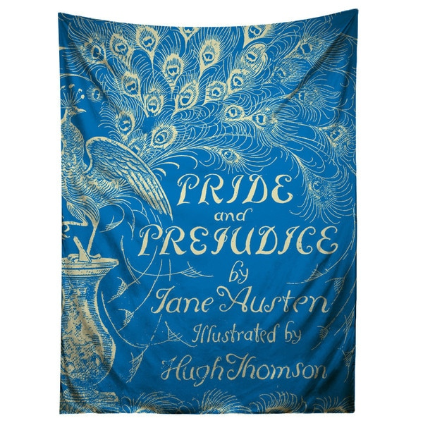 Sharp Shirter Pride and Prejudice/ Novel Art Tapestry