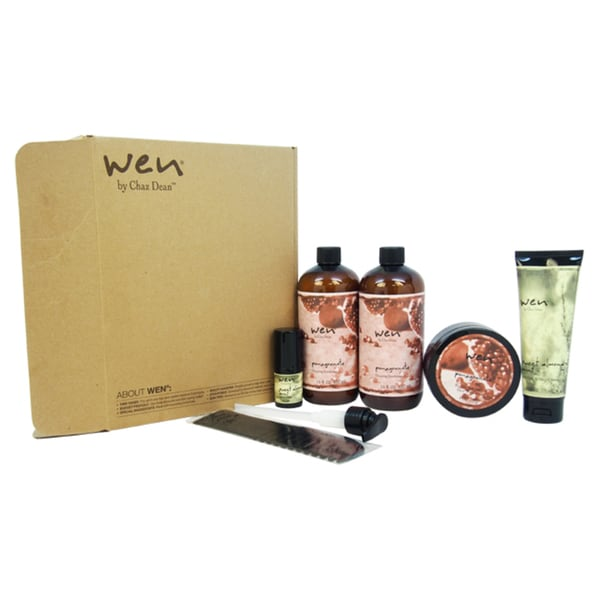Wen Hair Care 6-piece Pomegranate Deluxe Kit 19145243