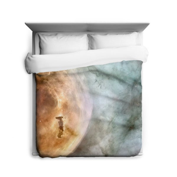 Sharp Shirter Carina Nebula: The Caterpillar Duvet Cover