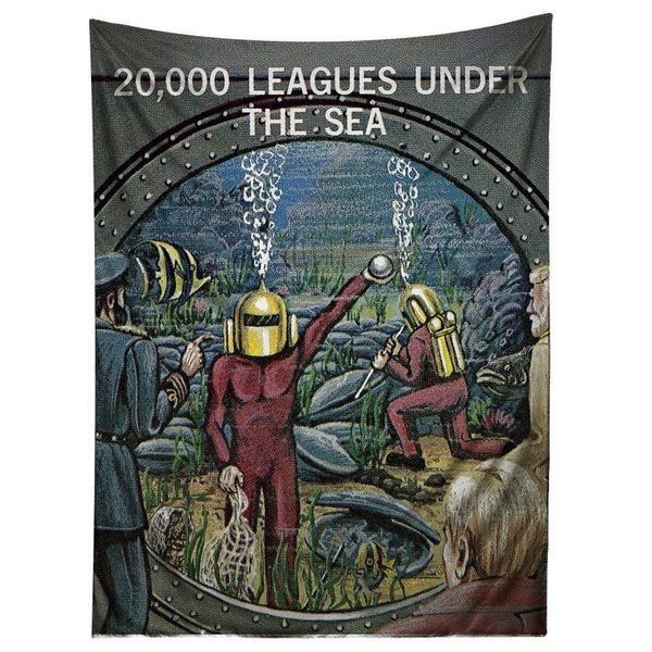 Sharp Shirter 20,000 Leagues Under The Sea Tapestry