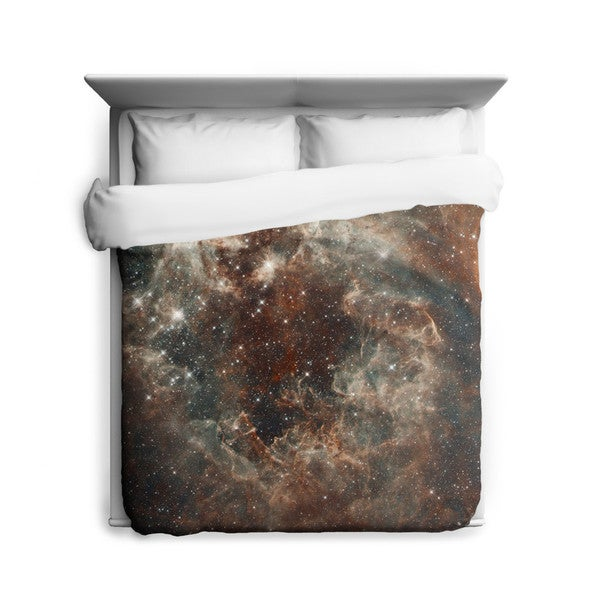 Sharp Shirter Tarantula Nebula in The Large Magellanic Cloud Duvet Cover