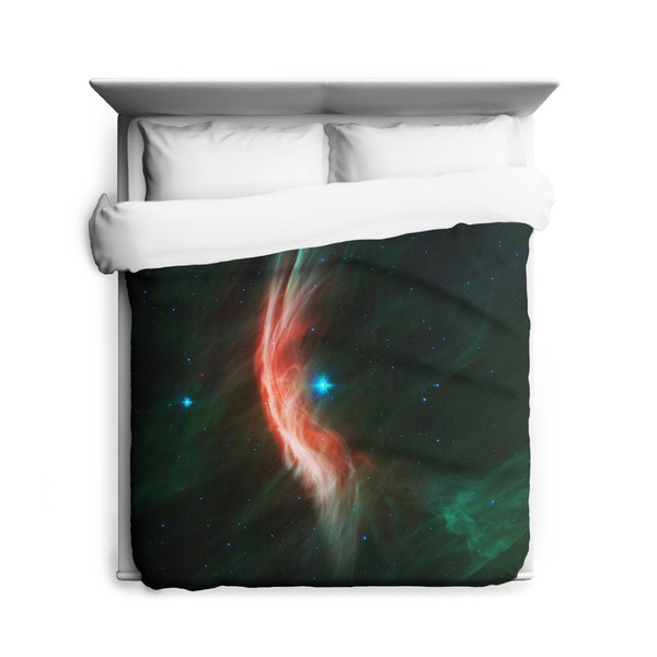 Sharp Shirter Zeta Ophiuchi/ Galaxy Duvet Cover