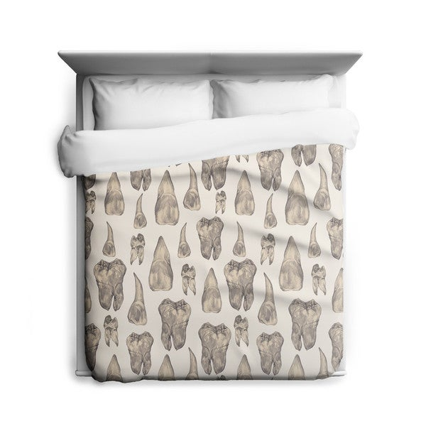 Sharp Shirter Teeth/ Duvet Cover