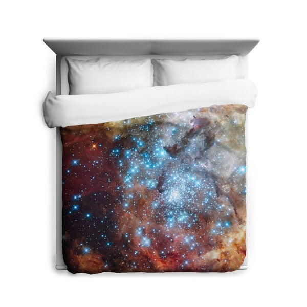 Sharp Shirter Super Star/ Space/ Galaxy Duvet Cover