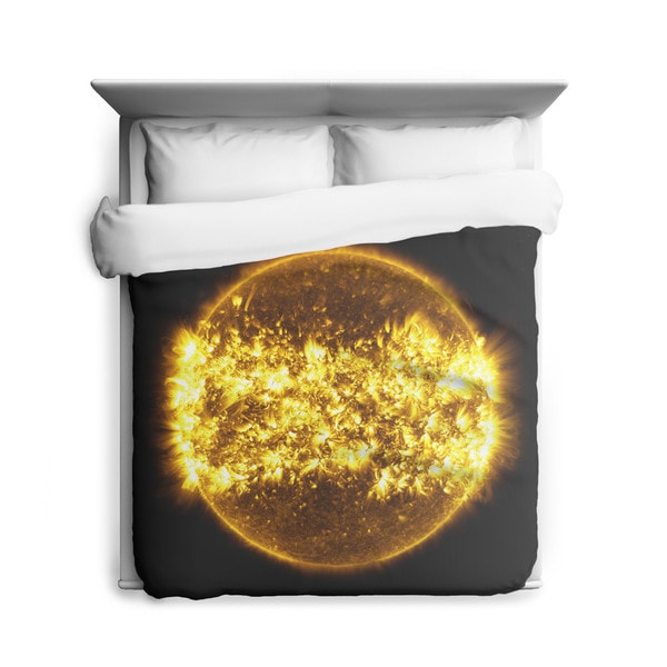 Sharp Shirter Solar Cycle/ Sun/ Space/ Galaxy Duvet Cover