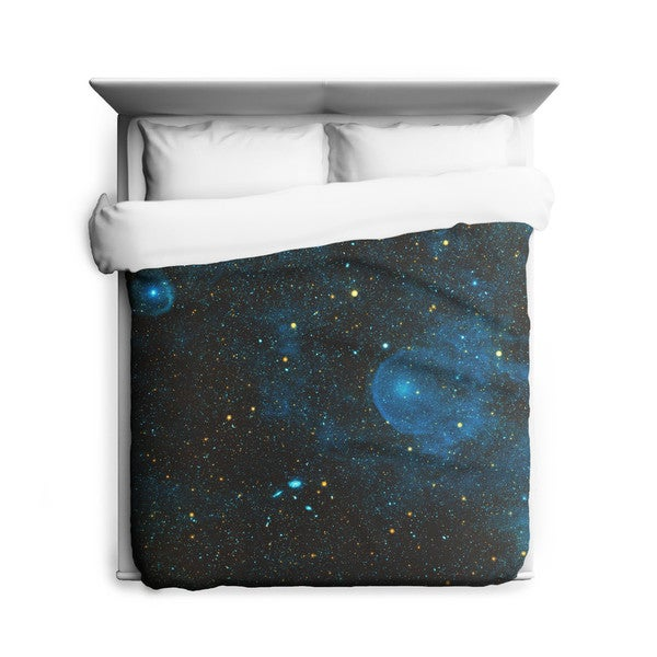 Sharp Shirter Runaway Star/ Space/ Galaxy Duvet Cover