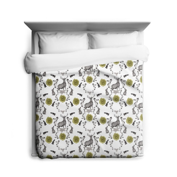 Sharp Shirter Forest Friends/ Duvet Cover