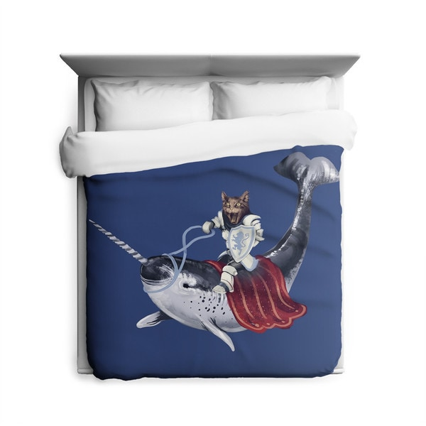 Sharp Shirter Sir Catspian Duvet Cover