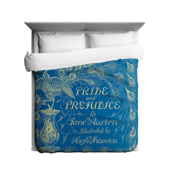 Sharp Shirter Pride and Prejudice Duvet Cover