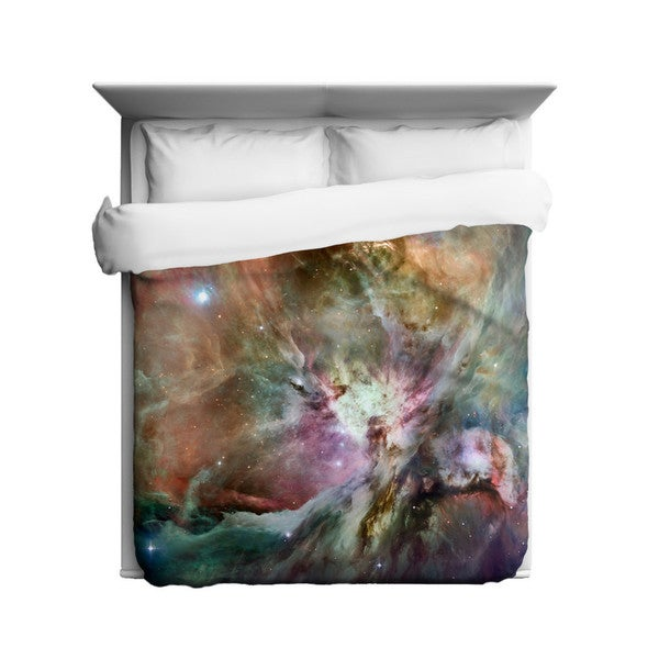 Sharp Shirter Orion Nebula/ Outer Space Duvet Cover