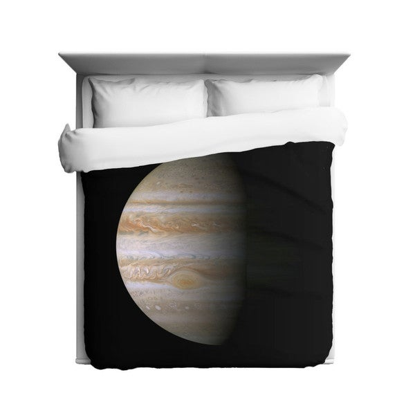 Sharp Shirter Jupiter/ Planet/ Galaxy/ Outer Space Duvet Cover