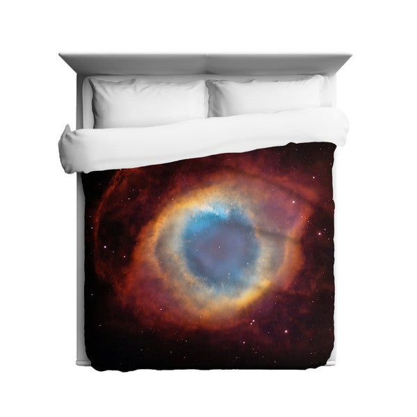 Sharp Shirter Helix Nebula/ Cosmos/ Eye of God Duvet Cover